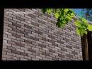 Дом из 3D-кирпича (напоминает «лего-кирпич») - часть 1