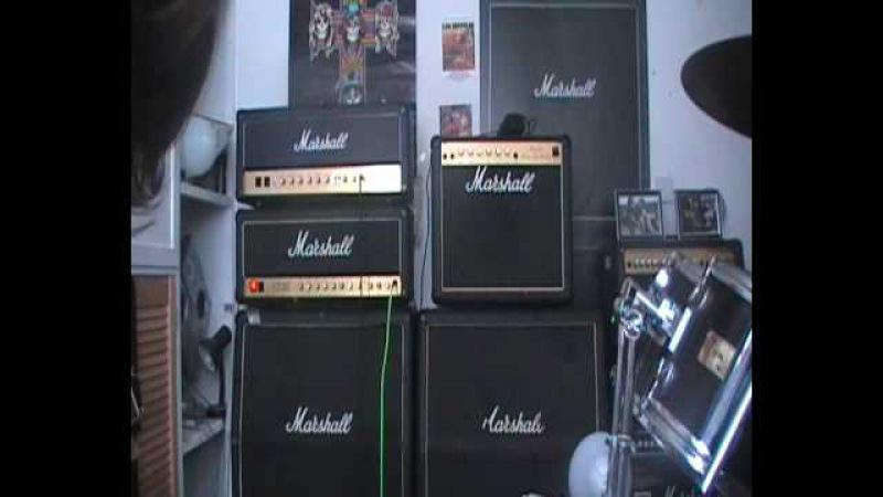 Marshall Vintage Modern vs JCM800 Amp Duel