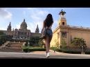 ЕВРОТРИП на Escalade Cadillac! БАРСЕЛОНА. Национальный дворец Каталонии у подножия горы ...