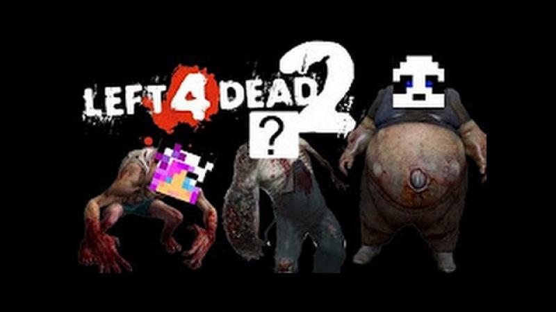 Зомби апокалипсис! Чуть не погиб в отеле? удалось спрятаться. Left 4 dead