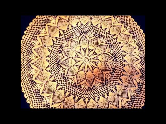 Салфетка крючком Жозефина_Doily crochet Josephine_Часть 1