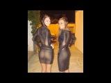 Девушки в прозрачных нарядах TOP40