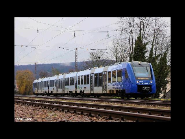 Züge in SB-Dudweiler mit BR 185, BR 151, BR 186, Vlexx, TXL Werbelok