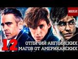 12 Отличий Магов Америки от Магов Англии!