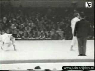 Judo Tokyo 1964: Stepanov (USSR) - Chang (Taiwan)
