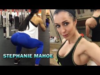 STEPHANIE MAHOE   IFBB Bikini Pro, Workout for Toned Glutes & Strong Legs @USA