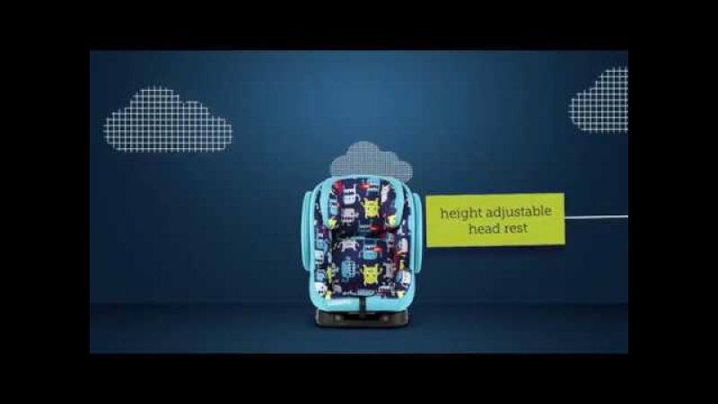 Cosatto HUG ISOFIX Group 123 Car Seat - Product Video