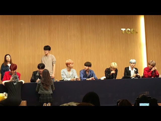 [ENG SUB] 170922 BTS Alladin Fansign: Flirting With Fans Answering Their Questions