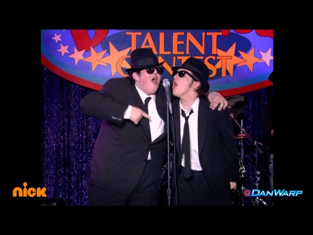 "Drake Bell and Josh Peck perform as the Blues Brothers! | ""Drake Josh"" 