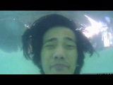 Action camera test, 4k sports ultra hd dv, in water