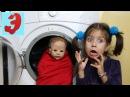 Укладываем Куклу спать, вредная Silicone baby Лиза убегает от мамы ЭмилюшиУчим цвета