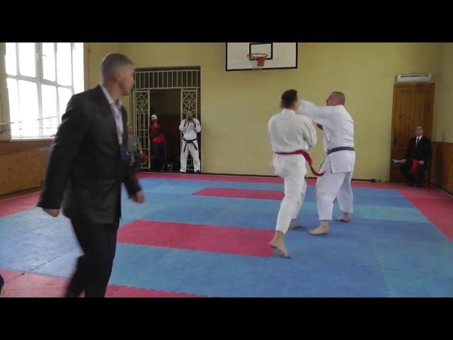 Каратэномичи кумитэ взрослые 26 04 2015 года Karatenomichi kumite adults 04 26 2015 year