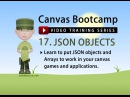 Canvas Bootcamp 17 - JSON Object Arrays and Loops