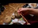 Подготовка корня сосны для плетения.(Валентина Дощинская)