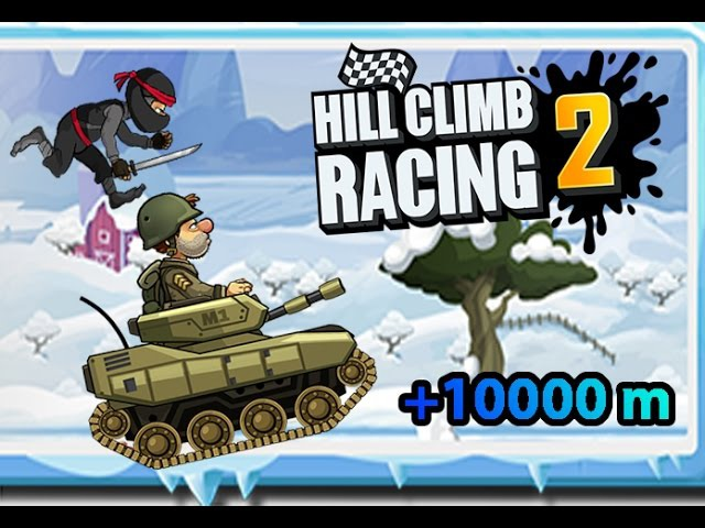 Hill Climb Racing 2 - TANK \ WINTER 10192m