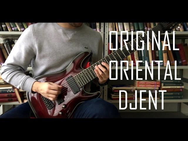 Sands of Nusay - Guitar Playthrough || Oriental djent/metal (Schecter Blackjack SLS C-8 )