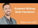 Academic Writing Body Transitions English for Academic Purposes with Josh 10