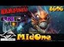 MidOne Slark RAMPAGE 8696 MMR Secret Ranked Gameplay Dota 2