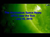 The anomalous Space News UFO near the Sun - July 16, 2016
