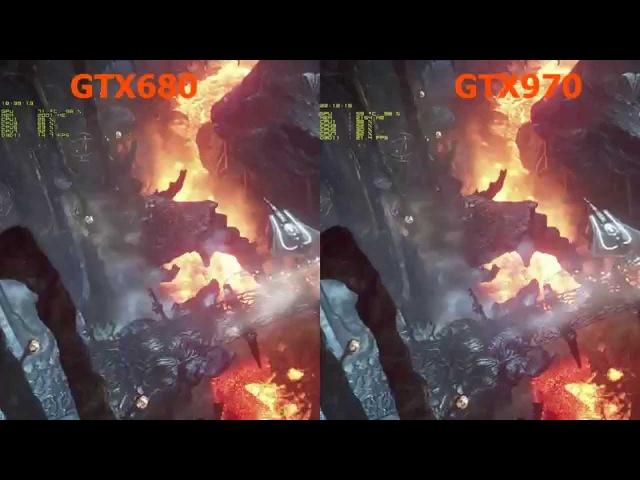 GigaByte GTX 970 4GB [GV-N970WF3OC-4GD] vs. Palit GTX 680 JetStream 2GB on Intel i7-2600 3,4Ghz