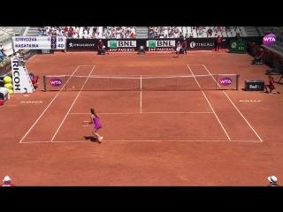 Barbora Strycova vs Daria Kasatkina - WTA Highlights