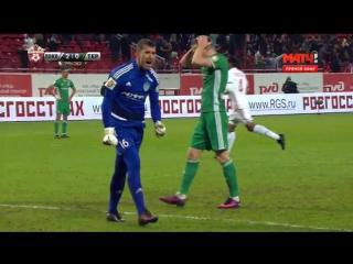 Локомотив - Терек 2-0 Мануэл Фернандеш (04.12.2016) HD