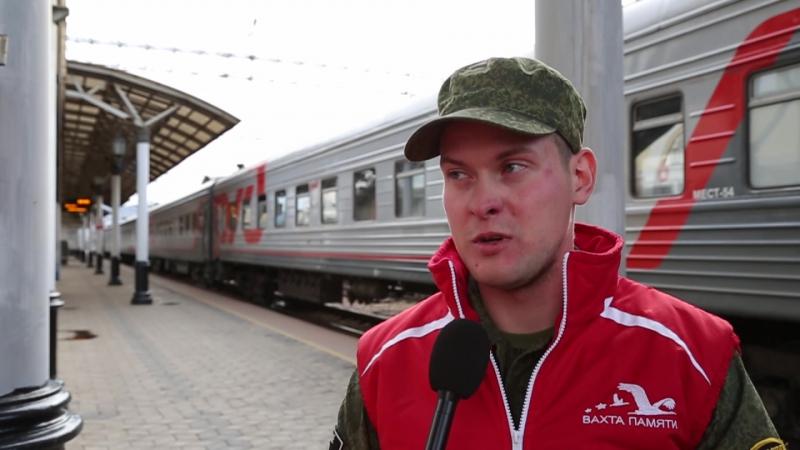 Станислав Куликов - руководитель поискового отряда