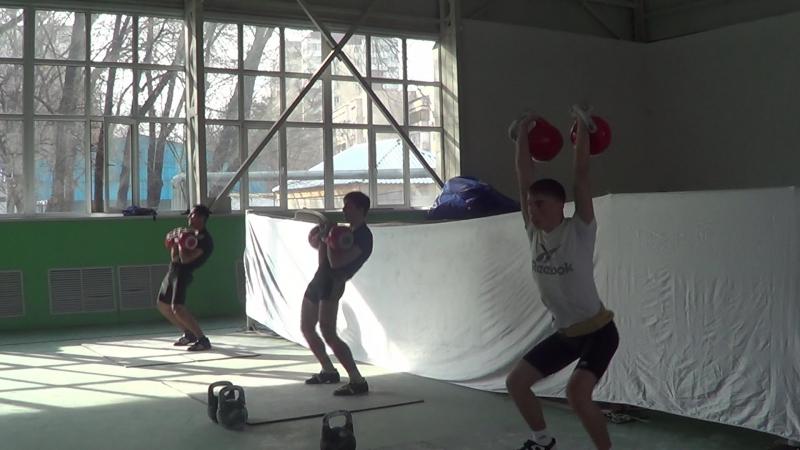 Весовая категория 73 кг-Толчок, юниоры, 32 кг