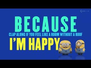 HAPPY - Pharrell Williams (feat. Minions) (1)