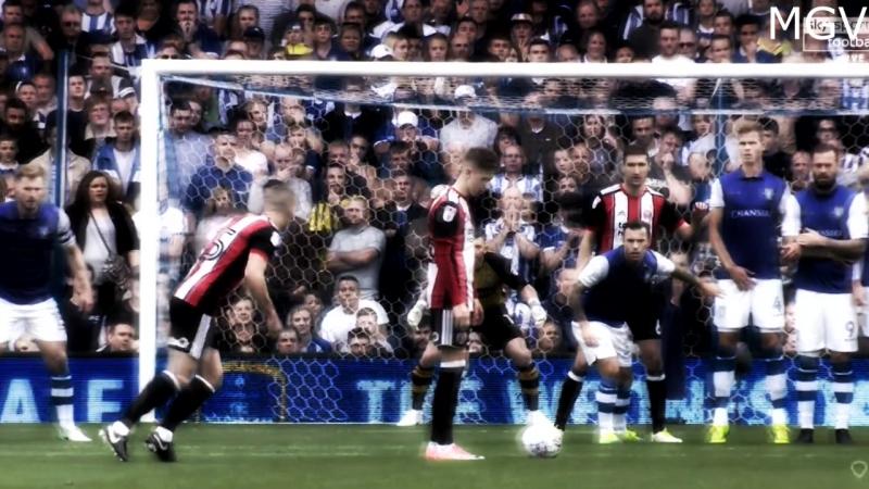 Хитрый розыгрыш штрафного от «Шеффилд Юнайтед и гол Флека.