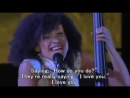Esperanza Spalding singin' ''What A Wonderful World''
