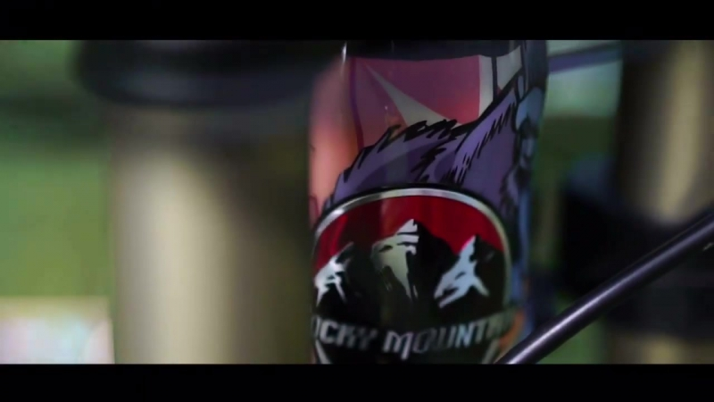 RockyMountain Maiden custom paint bike Check. Wie gefällt es euch Produced by Fiasko Racing