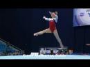 Спортивная гимнастика. Подборка сложнейших прыжков в упражнениях на ковре.