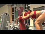 Упражнения в тренажерном зале для ягодиц