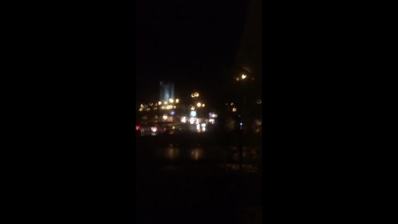 Ночное время суток Алматы