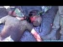 18 ЖЕСТЬ Ополченцы Донбасса расстреляли автобус с бойцами Правого Сектора возле ДонецкаМНОГО ТРУ
