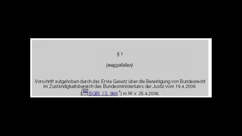 BRD MARIONETTEN THEATER KEINE ZPO, STPO und kein GVG WERDET ENDLICH WACH