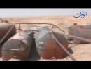 E Syria отснятый материал из Нефтяного месторождения АТ ТЕЙМ отбитого из ISIS показывает что пожарами разрушены колодца