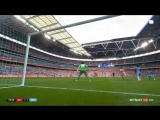 Incredible save by Cech to keep out Toures volley