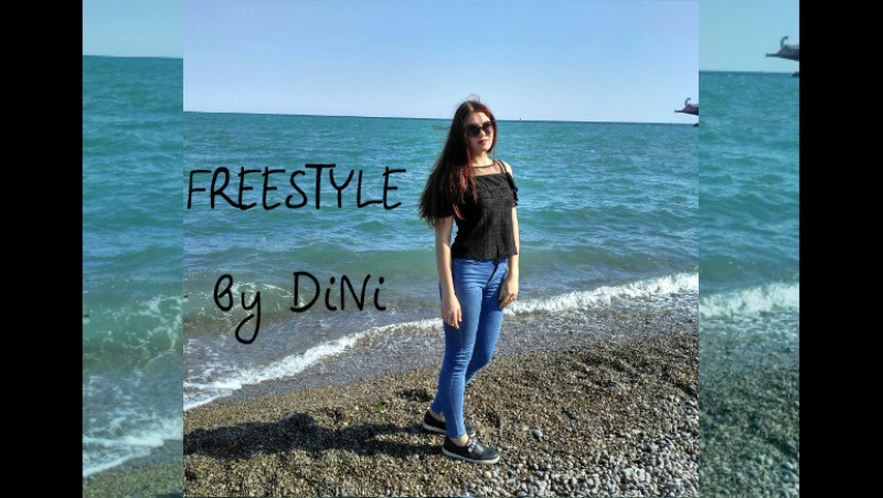 Dancehall VIDEO FREESTYLE by DiNi || Beach Boii - Rude || Yalta 2017
