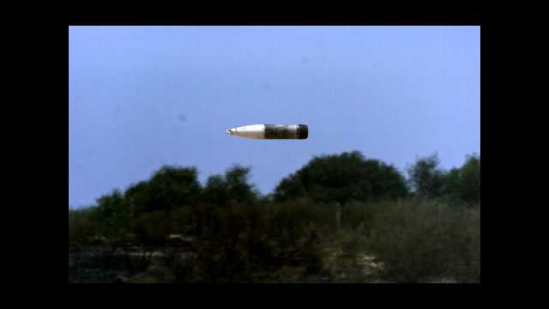 Trajectory Tracker - 155mm round