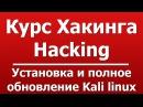Установка и полное обновление Kali linux