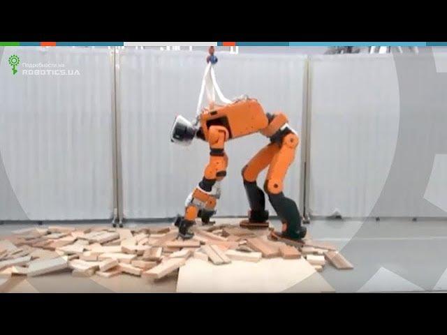 Спасательный робот Honda E2 DR (Robotics.ua)