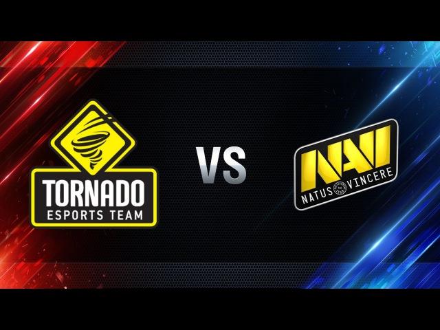 TORNADO Energy против Natus Vincere - Битва Чемпионов в Москве WGL 201617