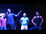 98 Degrees talking to the crowd after the rain delay 7-15-16 My2K Tour Tampa, FL