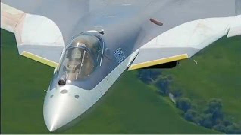 ПАК ФА Т-50 Охотник на НЛО / UFO Hunter в 2017 примут первые 12 ед. на вооружение ВКС РОССИ...