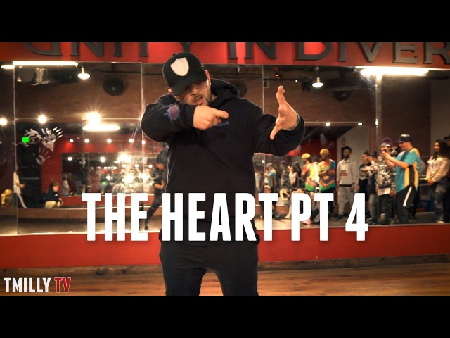Kendrick Lamar - The Heart Part 4 - Choreography Freestyle by Mikey DellaVella TMillyProductions