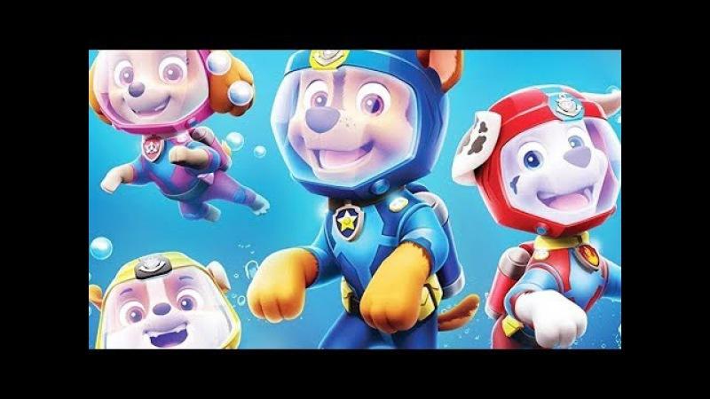 PAW PATROL Nickelodeon Mission Paw Rescue with Paw Patrol Sea Patrol Cartoon Video Game by Nick Jr.