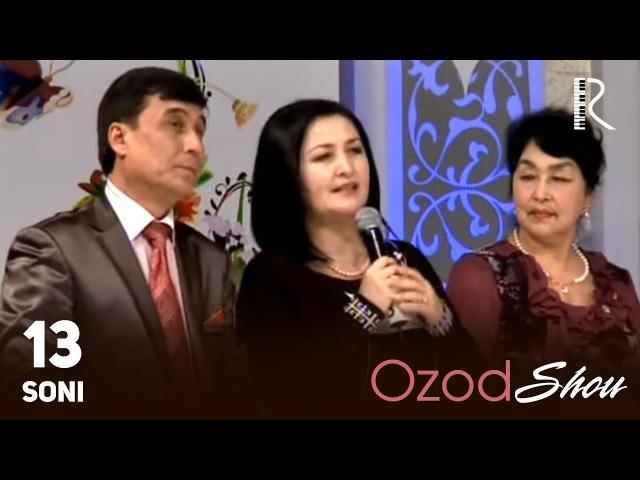 MUVAD VIDEO - Ozod SHOU 13-soni | Озод ШОУ 13-сони