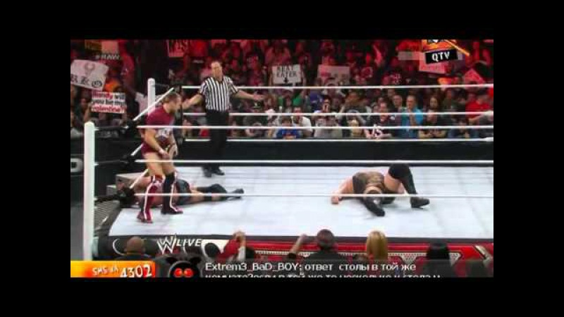 WWE Monday Night RAW SuperShow 11.03.2012 (QTV)